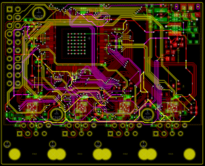 CrowdSwitch PCB Layout
